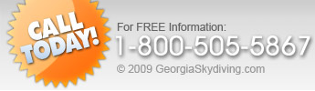 Call Georgia Skydiving Today for FREE Information!